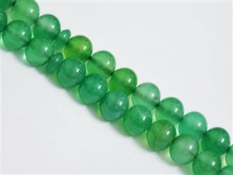 تسبیح عقیق سلیمانی سبز درشت 33 دانه