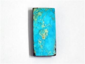 سنگ فیروزه نیشابورچهار گوش مستطیل آبی شجر