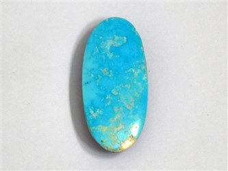 سنگ فیروزه نیشابور بیضی آبی شجر دارای رگه های فوق العاده زیبا