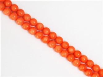 گردنبند مرجان نارنجی سایز 7 طبیعی و اصل با کیفیت بالا و شفافیت عالی بسیاز زیبا