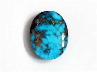 سنگ فیروزه نیشابور بیضی آبی شجر